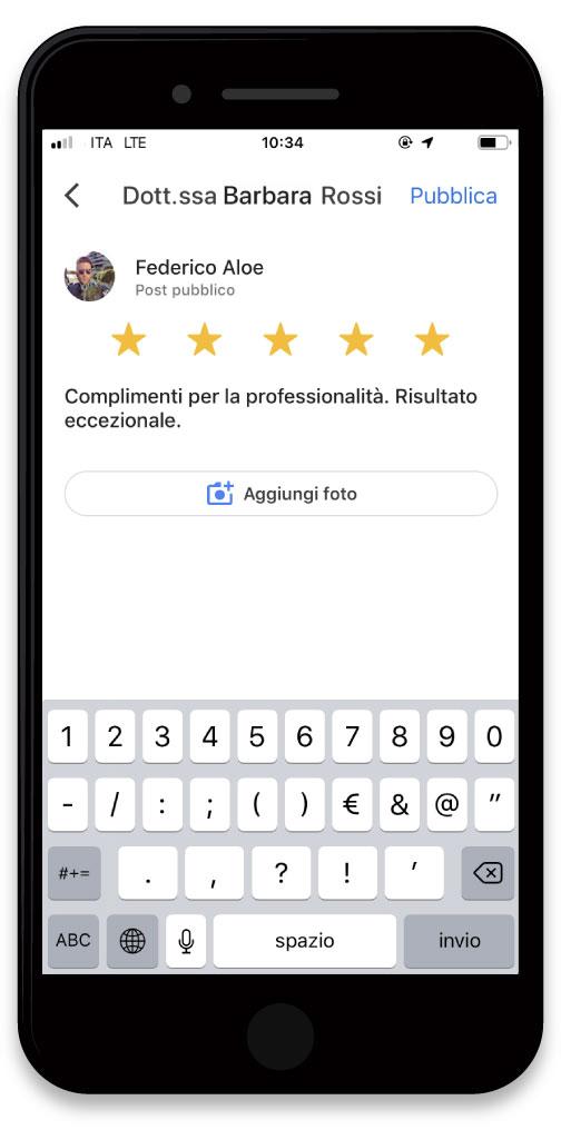 Ricevi Recensioni su Google